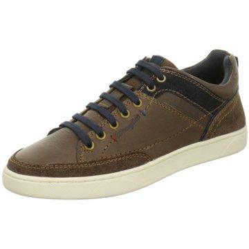 Wrangler Sneaker Low braun