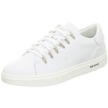 hip shoe style Sneaker Low weiß