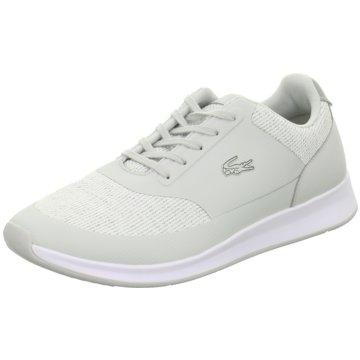 Lacoste Sneaker Low grau