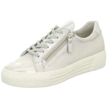 Gabor comfort Sneaker Low silber