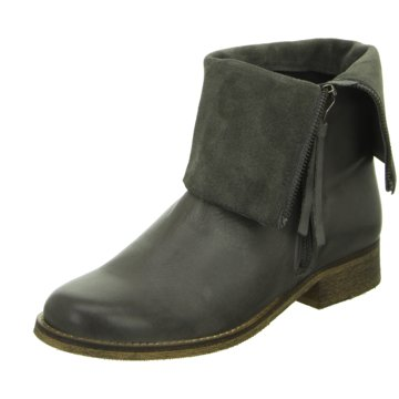 Online Shoes Klassische Stiefelette grau