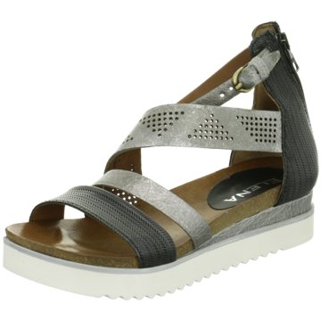ELENA Italy Modische Sandaletten schwarz