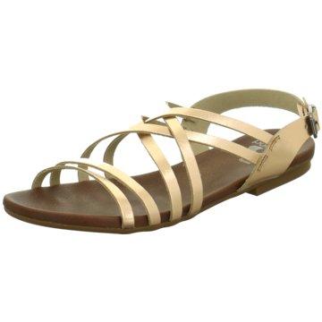 Porronet Sandale gold