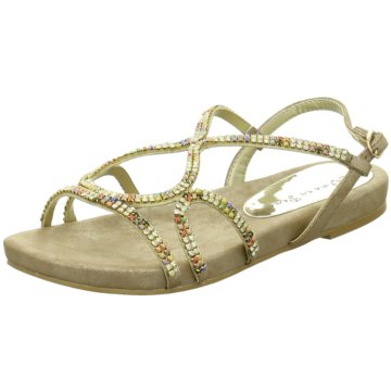 Alma en Pena Modische Sandaletten silber