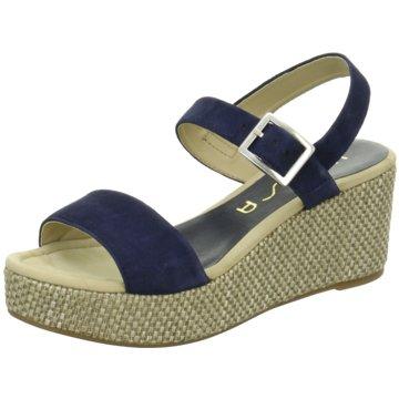 Unisa Modische Sandaletten blau