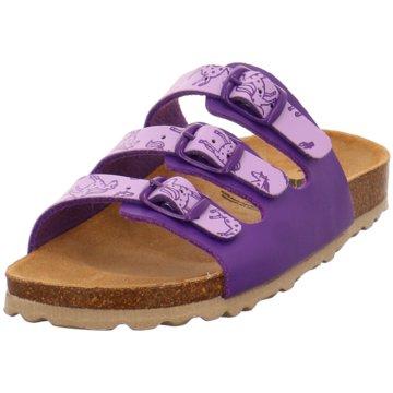 Brütting Offene Schuhe lila