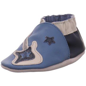 Robeez Krabbelschuh blau