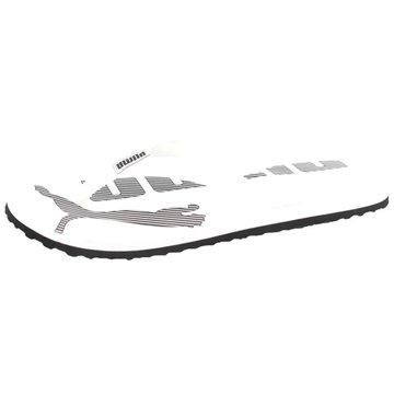 Puma Bade-Zehentrenner weiß