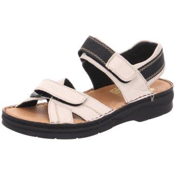 Rieker Komfort Sandale beige