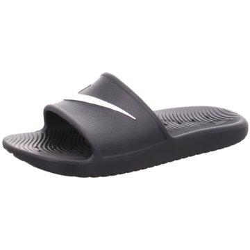 Nike Badelatsche grau