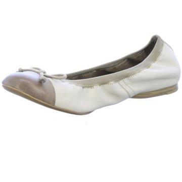 Tamaris Faltbarer Ballerina beige