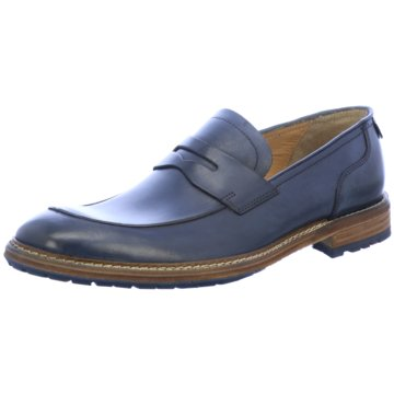 Lloyd Klassischer Slipper blau