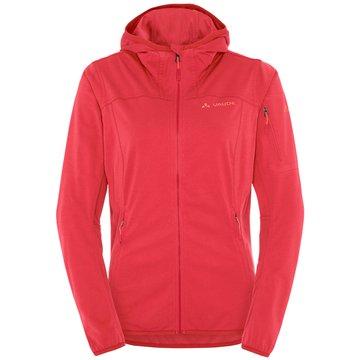 VAUDE Outdoorbekleidung Damen rot