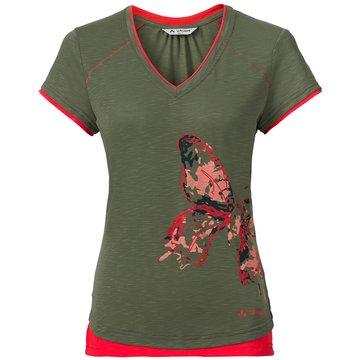 VAUDE Outdoorbekleidung Damen oliv