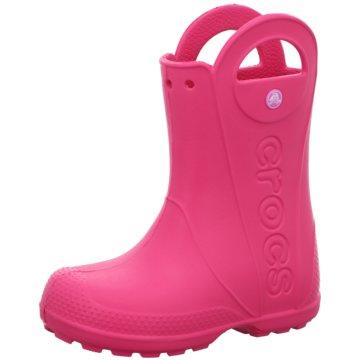 CROCS Gummistiefel pink