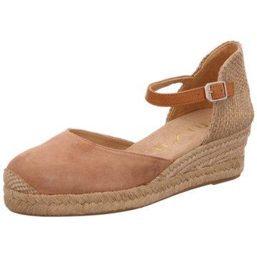 Unisa Modische Sandaletten lachs