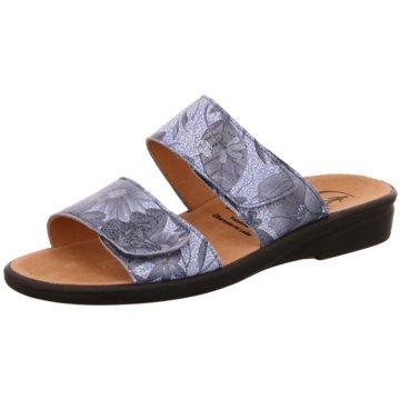 Ganter Komfort Pantolette blau