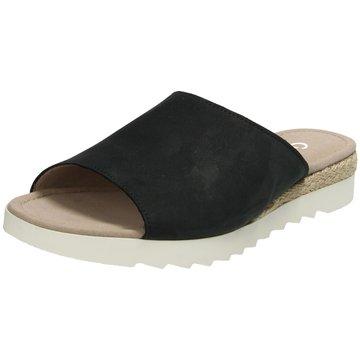 Gabor comfort Klassische Pantolette schwarz