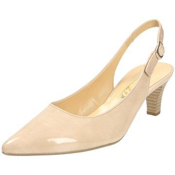Gabor Slingpumps beige