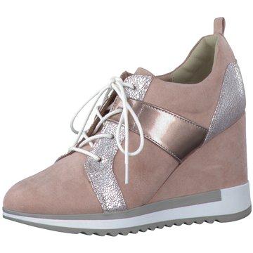 Marco Tozzi Sneaker Wedges rosa