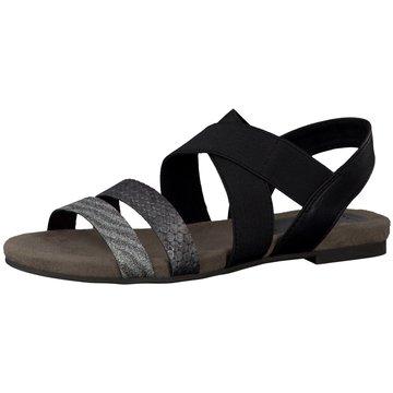 Marco Tozzi Sandale schwarz