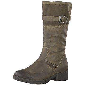 Soft Line Klassischer Stiefel grau
