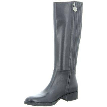 Geox Komfort Stiefel schwarz