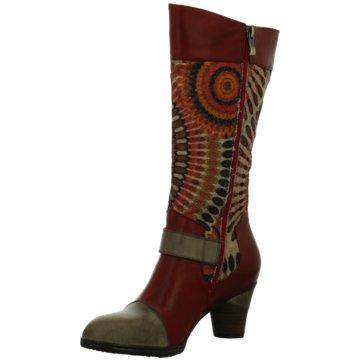 LAURA VITA Klassischer Stiefel rot