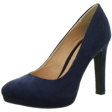 Buffalo Modische High Heels blau