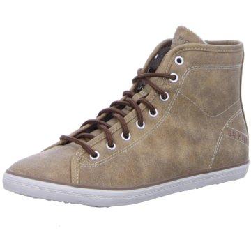 ESPRIT Sneaker High braun