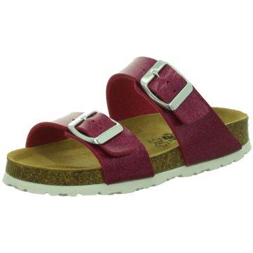 LONGO Offene Schuhe rot