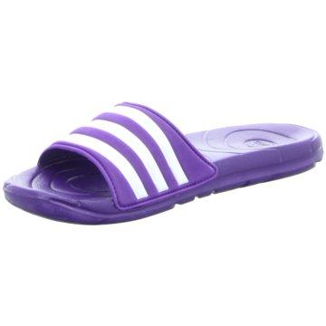 adidas Badeschuh lila