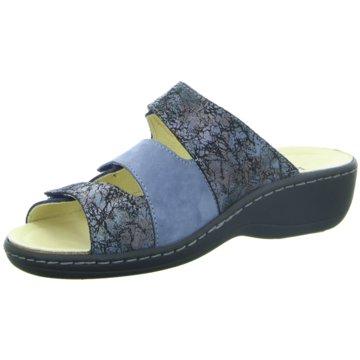 Longo Komfort Pantolette blau