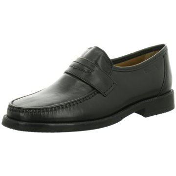 Montega Shoes & Boots Business Slipper schwarz