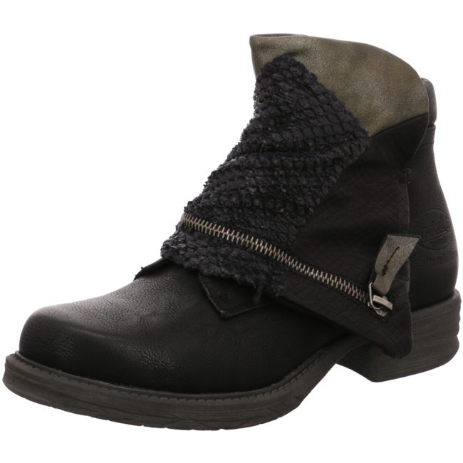 36ka316 627100 biker boots von dockers by gerli. Black Bedroom Furniture Sets. Home Design Ideas