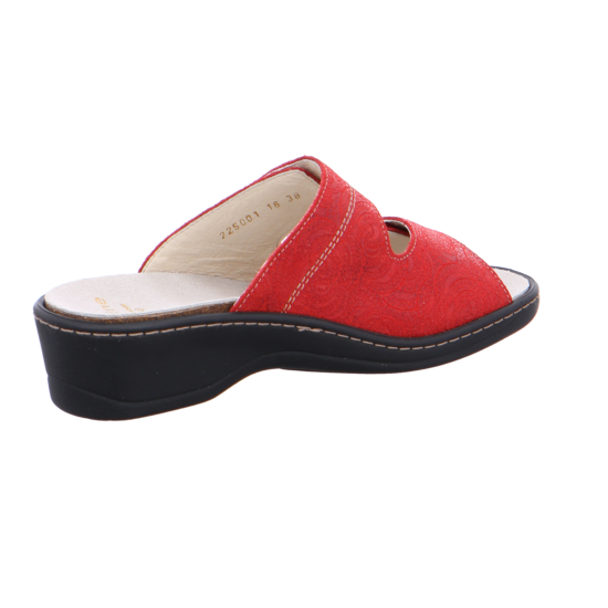 225001 rot Komfort Komfort Komfort Pantoletten von Fidelio 735ede