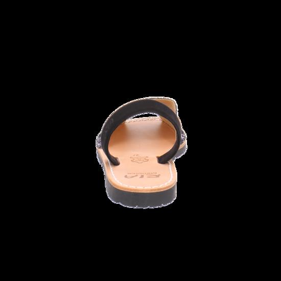 Schwarz Sandalen Glitter Von Menorca Negro kombiniert Ria Nub s2 27055 PXTkuiOZ