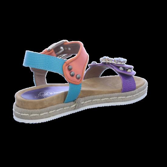 Mehrfarbig 42279937 Plateau Von Sandaletten Woman Alpe Shoes R3jL5A4