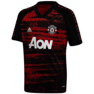adidas FußballtrikotsManchester United Pre-Match Shirt - FH8550 schwarz