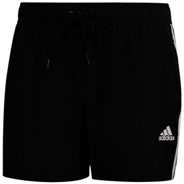 adidas Badeshorts3-Streifen CLX Badeshorts - FJ3367 schwarz