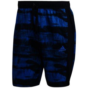 adidas Badeshorts3-Streifen CLX Graphic Badeshorts - FJ3385 blau