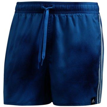adidas Badeshorts3-Streifen Fade CLX Badeshorts - FJ3388 blau