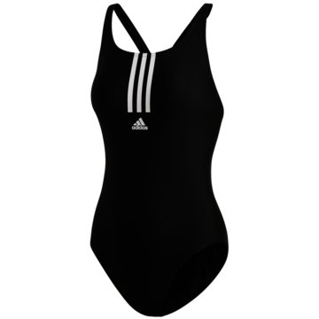 adidas Badeanzügeadidas SH3.RO Mid 3-Stripes Swimsuit - FJ4533 -