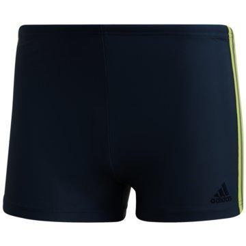 adidas Badeshorts3-Streifen Boxer-Badehose - FJ4713 schwarz