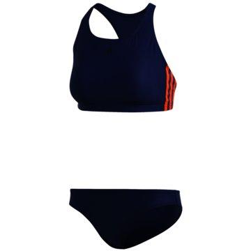 adidas Bikini Sets3-STREIFEN BIKINI - FJ5113 blau