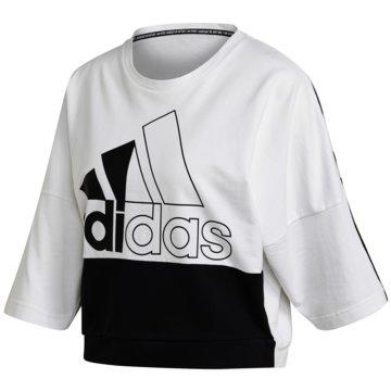 adidas SweatshirtsMust Haves Colorblock Sweatshirt - FL3977 -