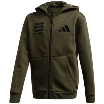 adidas TrainingsjackenJB A TP FZ HD - FM0201 -