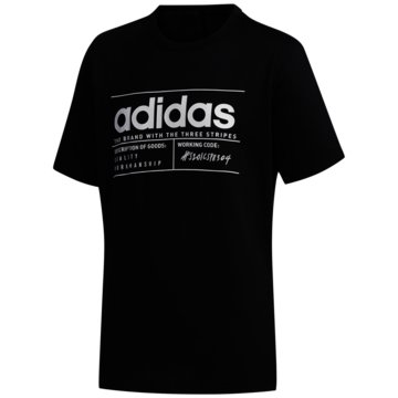 adidas T-ShirtsBRILLIANT BASICS T-SHIRT - FM0776 schwarz