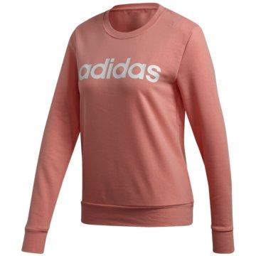 adidas SweatshirtsEssentials Linear Sweatshirt - FM6433 rosa