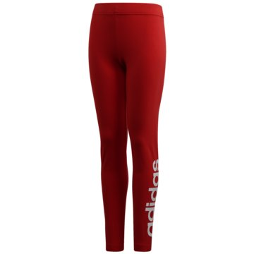 adidas TightsEssentials Linear Tights - FM7024 rot